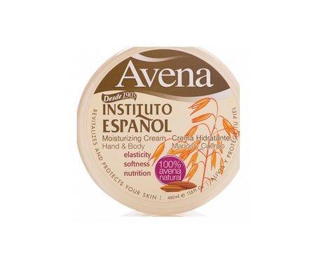 Instituto Español Institut Espagnol Crème hydratante à l'avoine 400ml