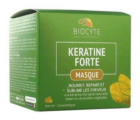 Biocyte Kératine Forte Baume Réparateur Sans Rinçage 100ml