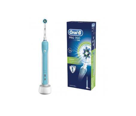 Oral-B OralB Brosse à dents électrique Pro 700 3D Cross Action