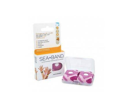 Sea Band SeaBand Bracelet Antinausées Enfant Rose