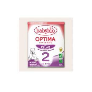 Babybio Lait 2ème Age Optima à Partir de 6 mois Bio 900g - Publicité
