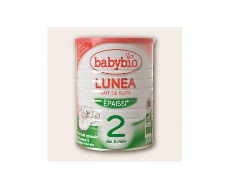 Babybio Lait 2ème Age Lunea 900g