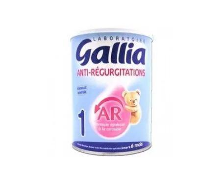 Gallia Lait AR AntiRégurgitation 1er âge 900g