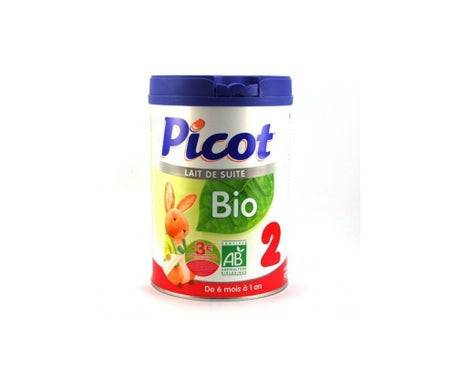 Picot Lait Bio 2ème Âge 900g