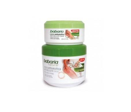 Babaria Crème Anti-cellulite à l'Aloe Vera 400ml + Crème Anti-cellulite