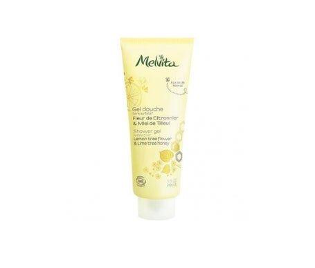 Melvita gel douche bio fleur de citronnier et miel de tilleul 200ml