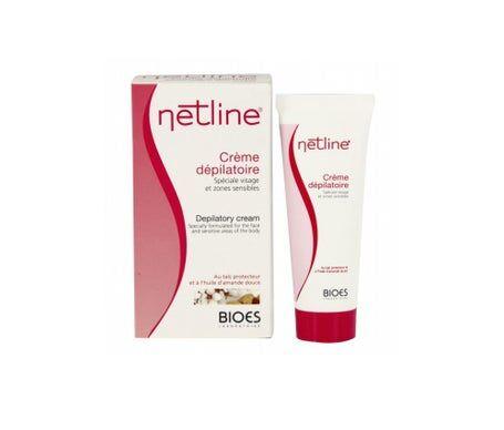 Bioes Netline Crème Dépilatoire Spéciale Visage 75ml