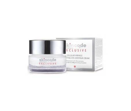 Skincode Exclusive Crème Cellulaire Prohibitrice Rides Contour Des Yeux 15ml