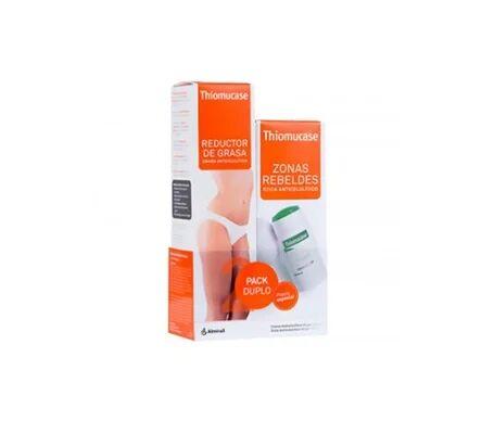 Thiomucase Crème Anti-Cellulite + Stick Zones Rebelles