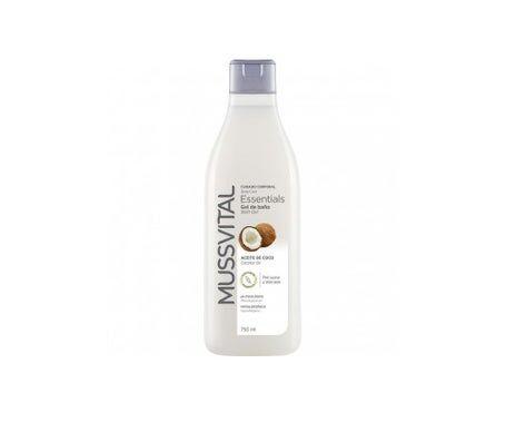 Mussvital Essentials Gel de bain à l'huile de noix de coco 200 Ml