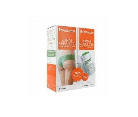 Thiomucase Zones Rebelles Stick Anti-Cellulite 2 x 75 ml
