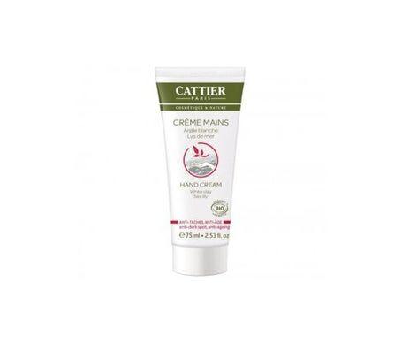 Cattier Crème Mains Anti Tâches & Anti Age 75mL