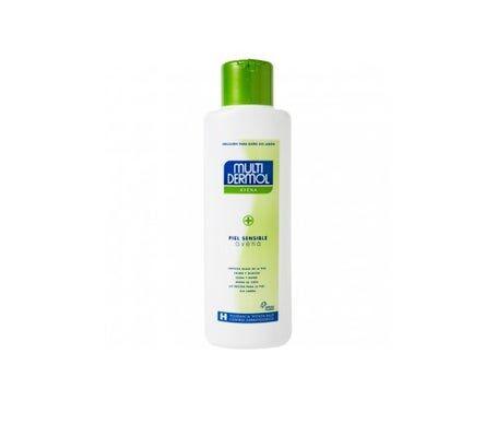 Multidermol gel de bain à l'avoine sans savon 750ml