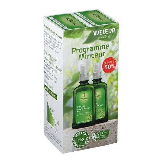 Weleda Minceur Huile massage 2 x 100 ml