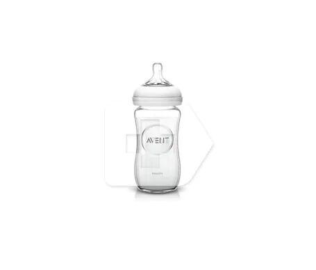 Philips Avent Avent Bouteille en verre naturel 240ml