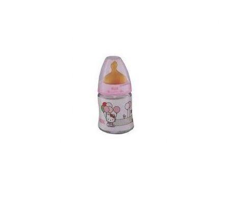 Nuk Bouteille Nuk First Choice Hello Kitty Tétine latex taille 1 150ml