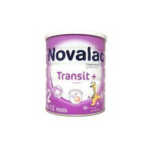 Menarini Novalac Transit+ Lait 2ème Âge 800g - Publicité