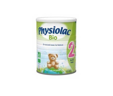 Luc et lea Physiolac Lait 2Ème Âge Bio 800g