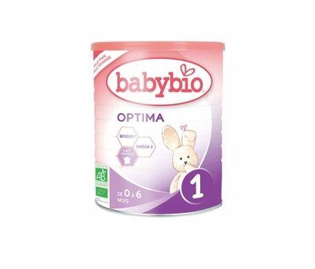 Babybio Lait 1er Age Optima Bio 0 à 6 mois 900g