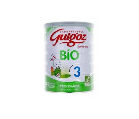 Guigoz Lait Bio 3ème âge 800g