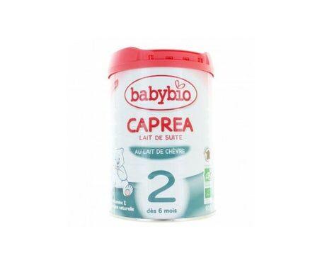 Babybio Caprea 2ème âge au lait de chèvre bio 900g