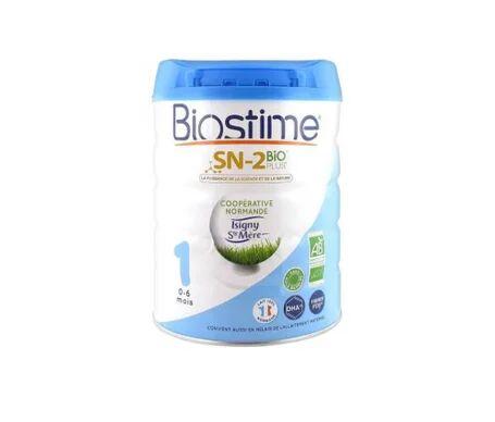 Biostime 1 Lait en Poudre Bio 1er Âge 800g