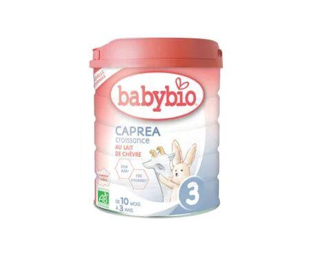 Babybio Caprea Croissance Au Lait de Chèvre 3ème Âge 800g
