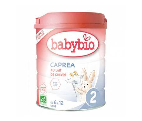 Babybio Caprea 2 Leche ecológica 800g
