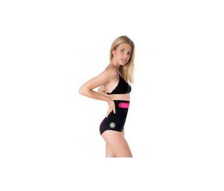 Anaissa culotte haute anti-cellulite noire Size-L