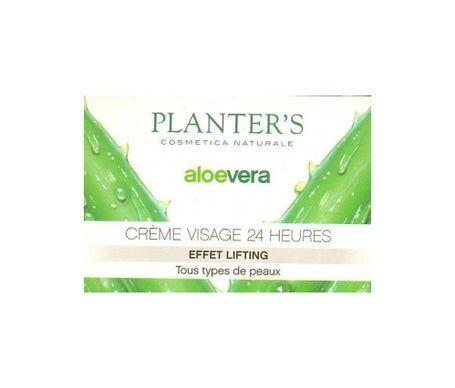 Planters Planter'S Crème Visage 24 H Effet Lifting Aloe Vera 50 ml