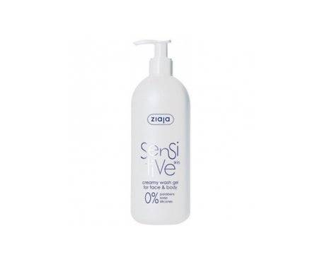 Ziaja Sensitive Gel Nettoyant Visage et Corps Sensitive Skin 400ml