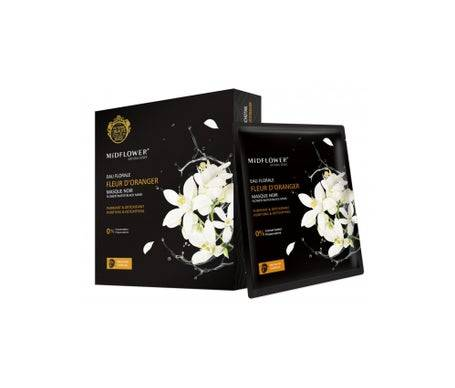 Midflower Masque Noir Binchotan 5 unités