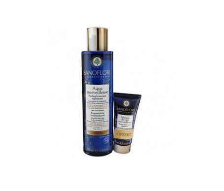 Sanoflore Aqua Merveilleuse 200 ml + Mini Masque de Nuit Offert