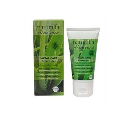 Naturalia aloe vera soin du visage crème-gel 50ml