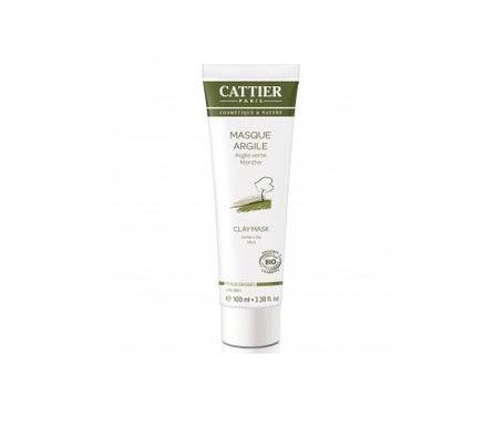 Cattier Masque Argile Verte 100ml