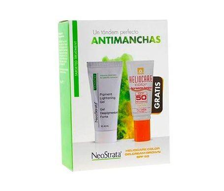 Neostrata Pack Anti-Taches Forte Dépigmentation Gel Dépigmentation 30ml+helioca