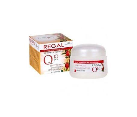 Regal Q10+ Crème de jour énergisante anti-rides avec Goji Berry 20+ Peau sèche et sensible 50 ml