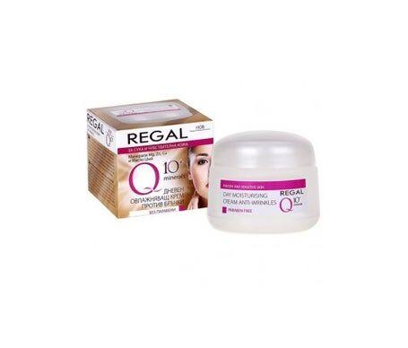 Regal Q10+ Crème de jour hydratante Anti-rides Peau sèche et sensible 50 ml