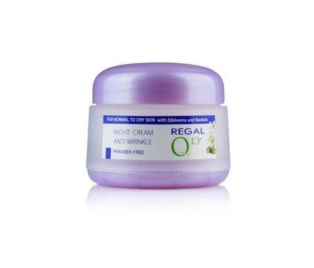Regal Q10+ Crème Anti-rides nuit à l'huile Baobab & Elweiss Normal to Dry Skin 50 ml