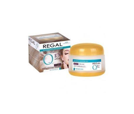 Regal Q10+ Crème de nuit anti-rides pour peaux normales et mixtes 50 ml