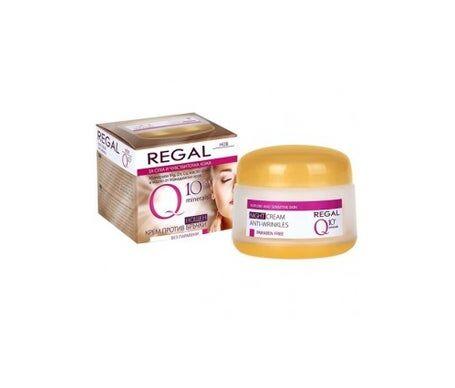 Regal Q10+ Crème de nuit anti-rides pour peaux sèches et sensibles 50 ml