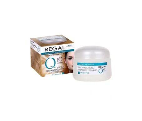 Regal Q10+ Crème Hydratante jour Anti-rides Normal et Combinaison 50 ml