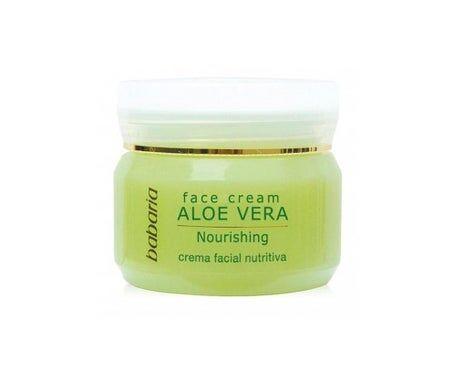 Babaria 24h Crème Hydratante Visage Aloe Vera 50ml