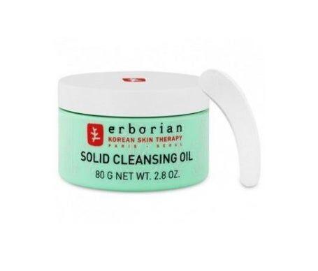 Erborian Baume Nettoyant et Démaquillant Visage Solid Cleansing Oil 80g