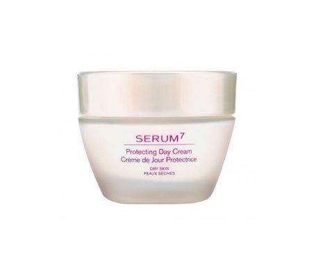 Serum-7 Serum7 Crème de Jour Protectrice SPF 15 Peaux Sèches 50 ml