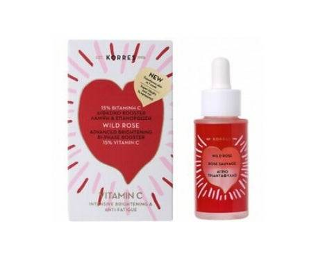 Korres Rose Sauvage Booster Eclaircissant Intense 30Ml