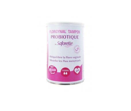 Tampax Saforelle Florgynal Tampon Probiotique Applicateur Compact Normal 9 Tampons