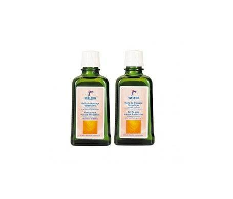 Weleda Huile de Massage Vergetures 100ml lot de 2