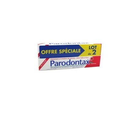 Parodontax Dentifrice Echinacée Fluor 75ml Lot De 2