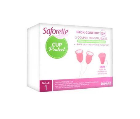 Saforelle Cup Protect Coupelle Menstruelle T1 boîte de 2